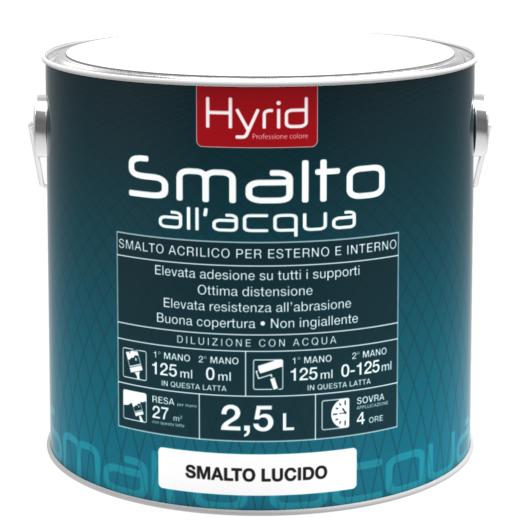 Hyrid colora e decora la tua casa hyrid pitture for Smalto all acqua